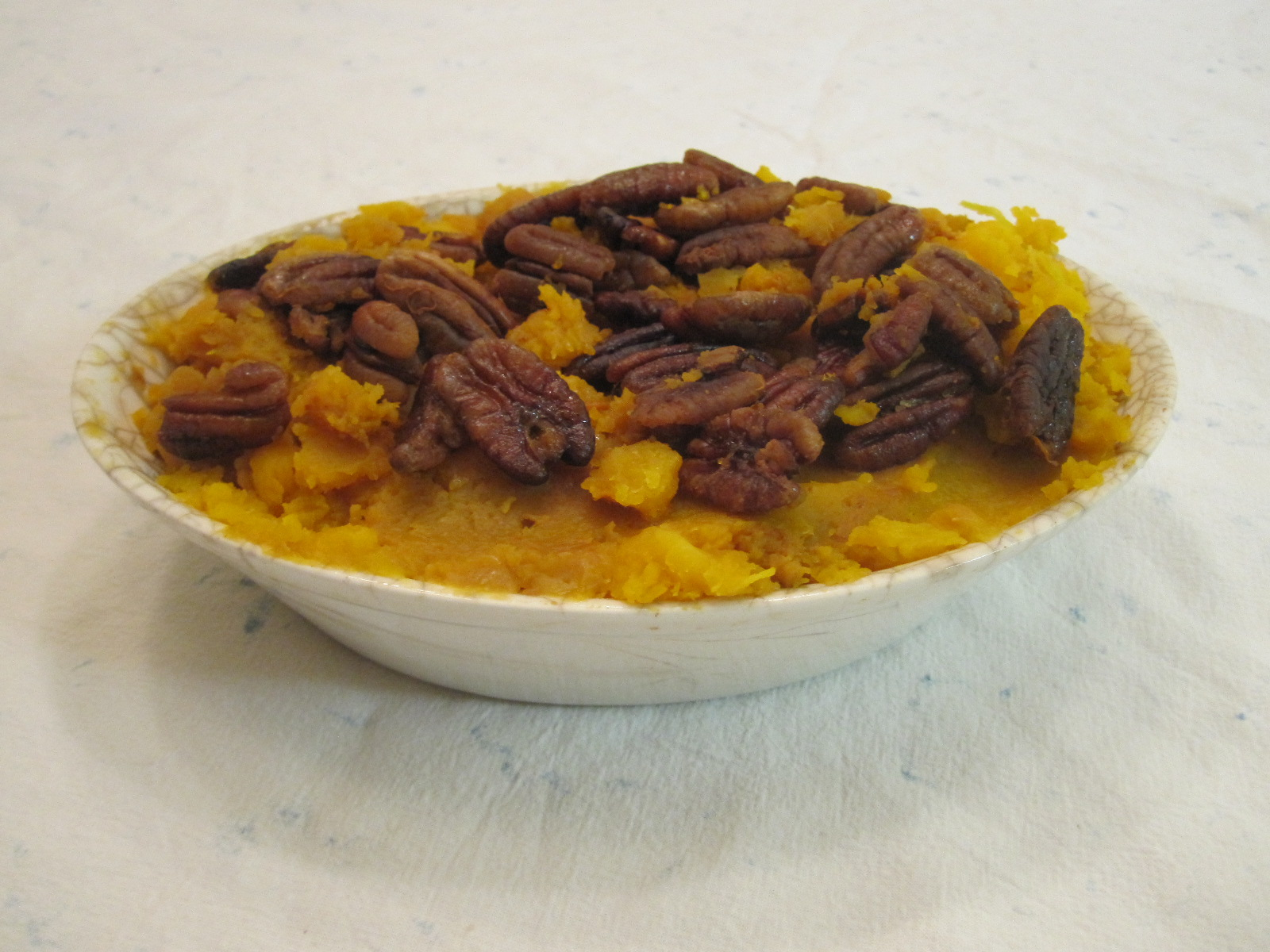 Whipped Butternut Squash with Cloves and Pecans