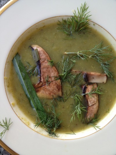 Easy Gourmet Recipes - Mushroom Leek Soup
