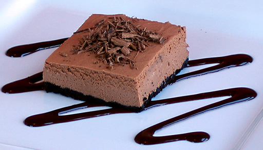 Easy gourmet recipes desserts healthy natural desserts including chocolate cheesecake squares forumfinder Choice Image