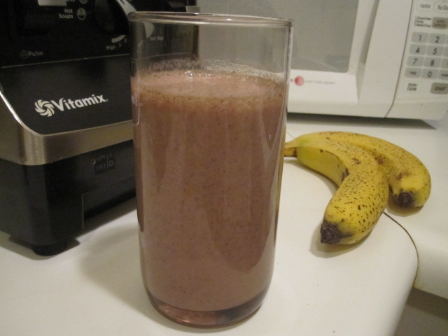 Chocolate Banana Coconut Milk Smoothie